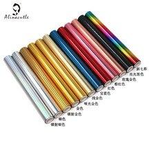 5M(Length)X19CM(Width) Toner Reactive Foil Roll,Use with Laminator Laser Printer ,Paper Holographic Heat Transfer Crafts Foil