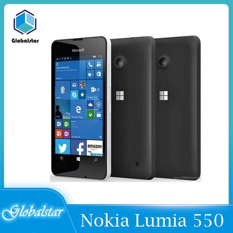 Nokia Lumia 550 reacondicionado Original Lumia 550 8MP Cámara Quad-core 8GB ROM...