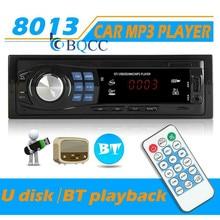 Autoradio 1DIN 12V Bluetooth Car Stereo In Dash MP3 Player Aux Input USB Radio Receiver