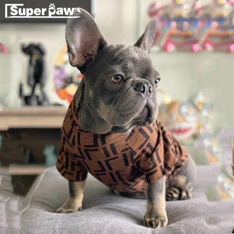 Bulldog Francés ropa de perro de moda para mascotas cachorro Sudadera con capucha abrigo Schnauzer jersey para Chihuahua chaqueta para perros traje Dropshipping. Exclusivo. WHC01