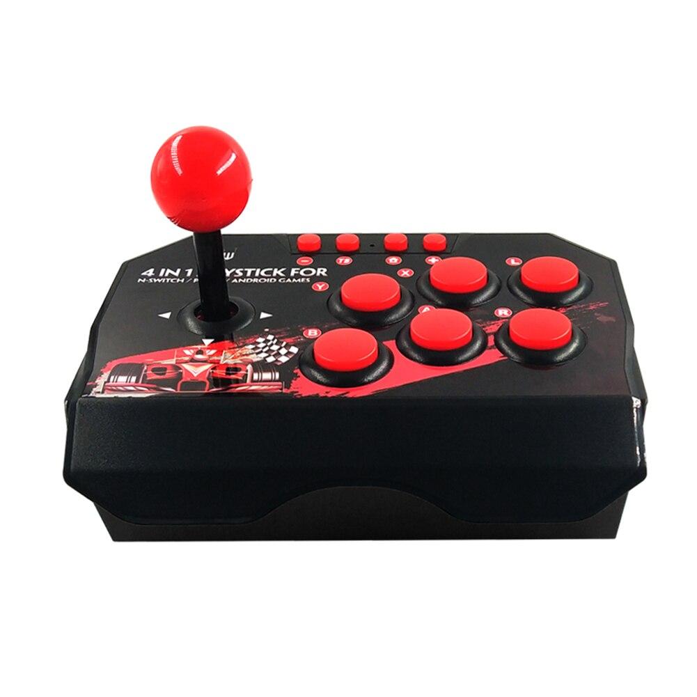 4-em-1 usb c com fio controlador usb joystick para nintendo n-switch/ps3/pc/jogos android console gamepad jogos suprimentos enlarge