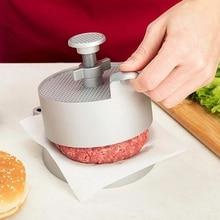 Aluminum Alloy Kitchen Hamburger Meat Press Tool Burger patty maker beef patty Makers Mold Hamburger Press Burger Maker tools