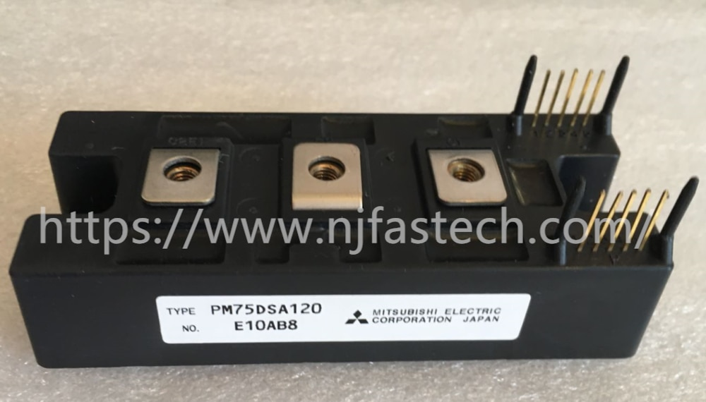Componentes electrónicos transistores tiristor de alta frecuencia 75A 1200V PM75DSA120 módulo de potencia igbt