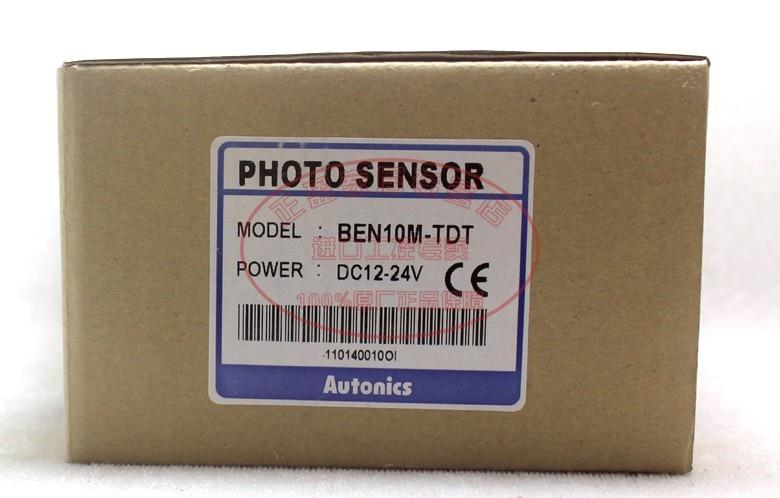 Autonics auténtico Original en el interruptor fotoeléctrico BEN10M-TDT1 BEN10M-TDT2