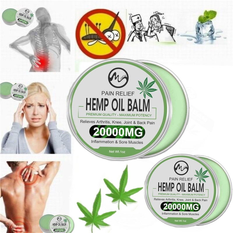 Minch 20000MG Natural Cbd Hemp Cream For Neck Pain Pain Releif Balm Ointment Anti-Inflammation Relieve Pain Neck Relief Balm