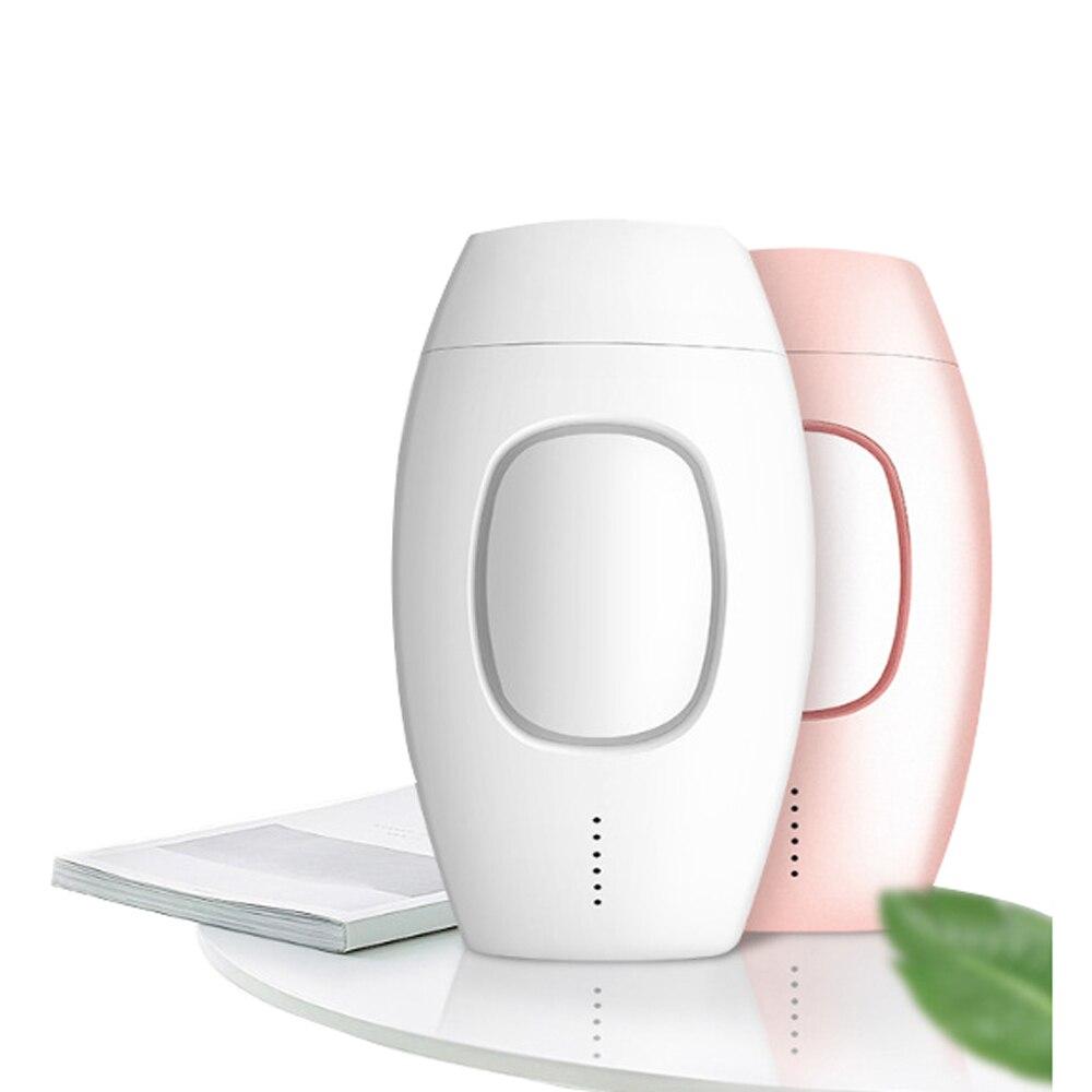 Mini Depiladora para el hogar, máquina de depilación láser, dispositivo IPL indoloro...