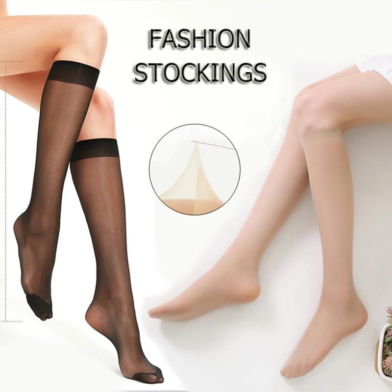 sexy-transparent-stockings-crystal-silk-thin-summer-nylon-mid-calf-length-socks-solid-color-seamless-high-elastic-silk-hosiery