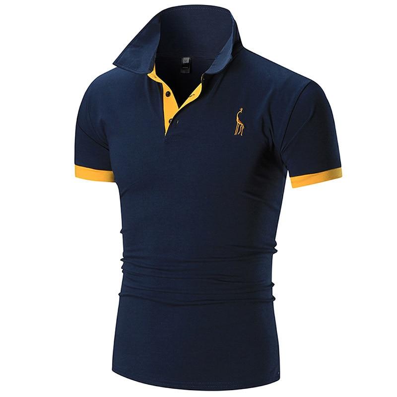 2021 New Polo Shirt For Men Casual Polo Shirt For Men Embroidered Polo T-Shirt polo t shirt ringspun polo t shirt
