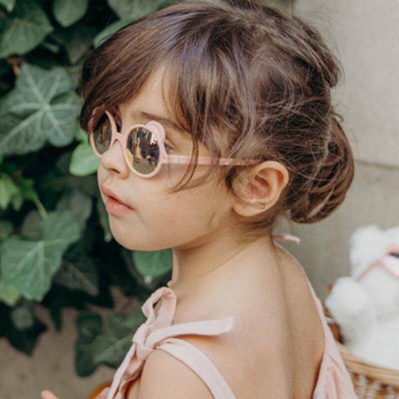 Детские Модные солнцезащитные очки круглые детские солнцезащитные очки для мальчиков и девочек стильные детские солнцезащитные очки UV400 а...