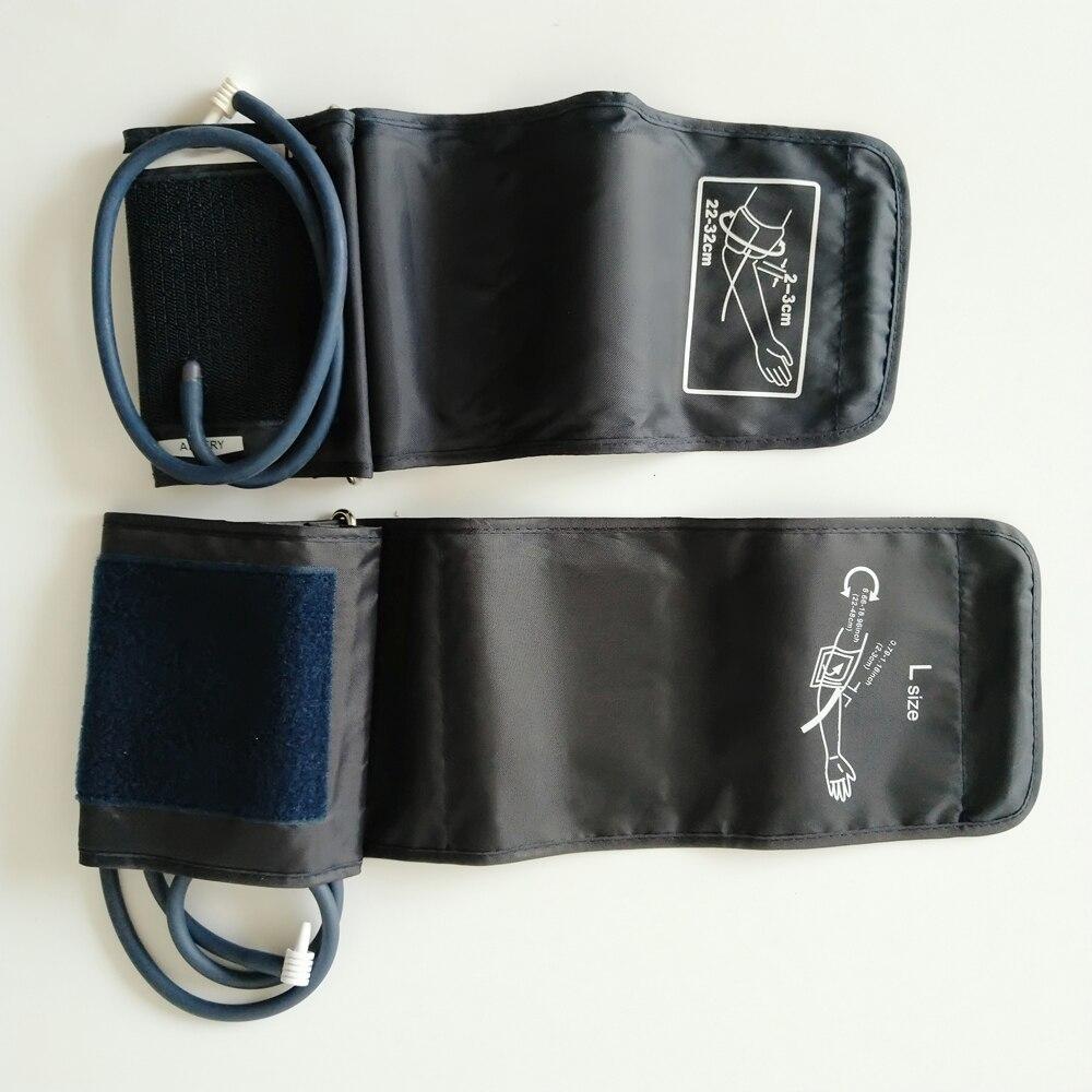 Portable Arm Digital Blood Pressure Monitor Cuff 22-32\22-48cm Single tube Tonometer Cuff For Sphygmomanometer BP meter