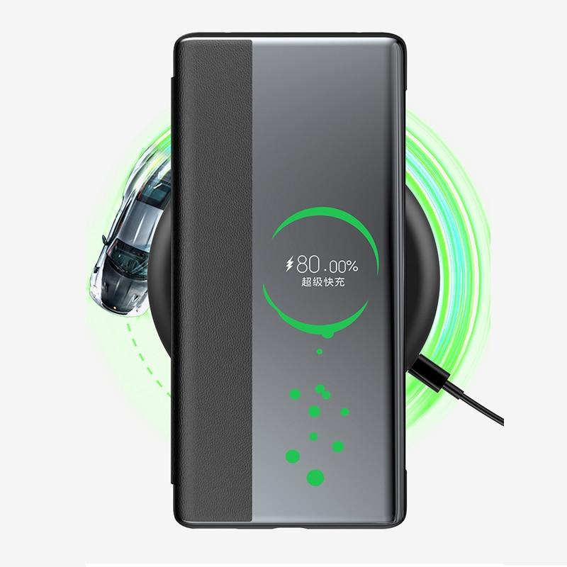 Original Huawei Smart View Cover Phone Protection Cover For Mate 30/30 Pro/Mate 40/40 pro/Mate 40 pro plus Flip case Auto Sleep