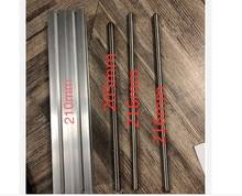 Comprimento personalizado da corrediça 210mm cnc st t8 * 4 ballscrew mesa deslizante + 1pc nema 23 motor deslizante xyz eixo movimento linear