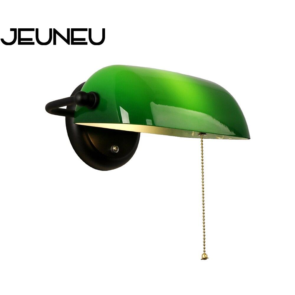 مصباح جداري LED صناعي أوروبي عتيق مع مفتاح ، مصباح حائط لغرفة النوم وغرفة المعيشة والممر والدراسة ، E27