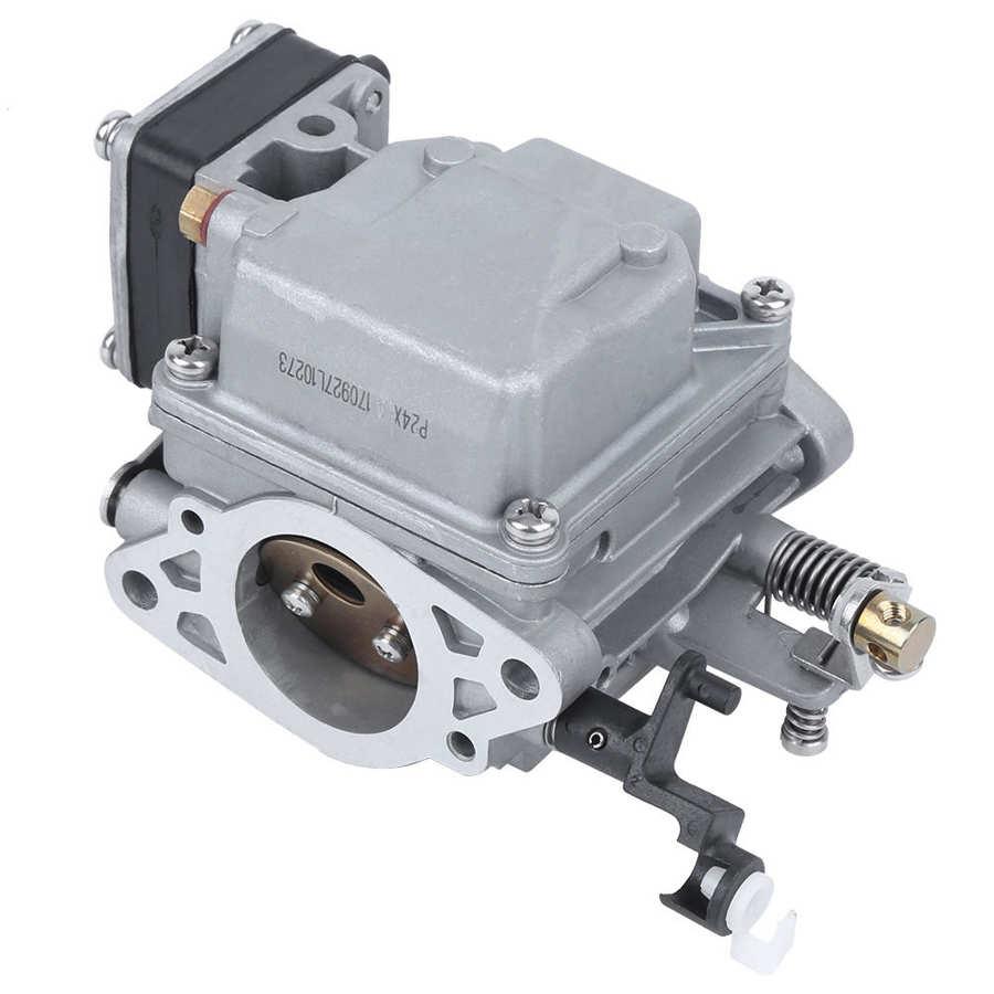 Carburador profesional 63V-14301-00 Speedboat 2 tiempos 15 caballos de fuerza fuera de borda Motor carburador barco piezas