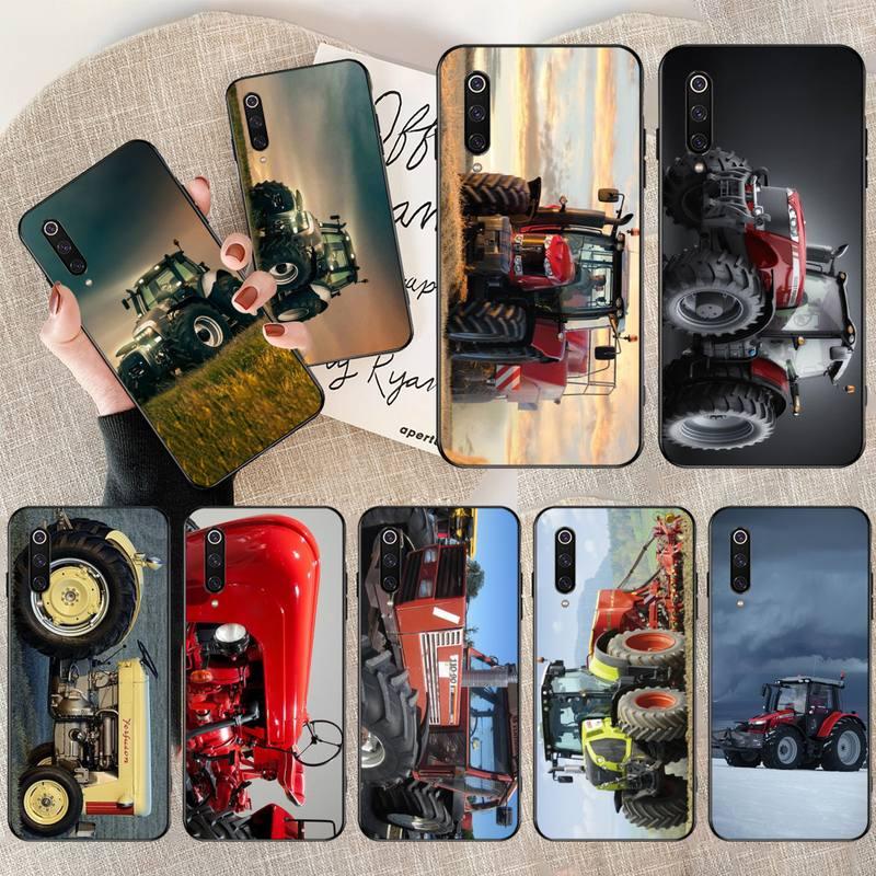 Hpchcjhm massey ferguson tratores arte do carro poster tpu macio silicone caso do telefone capa para xiaomi mi9 9se 8se pocophone f1 mi8 lite
