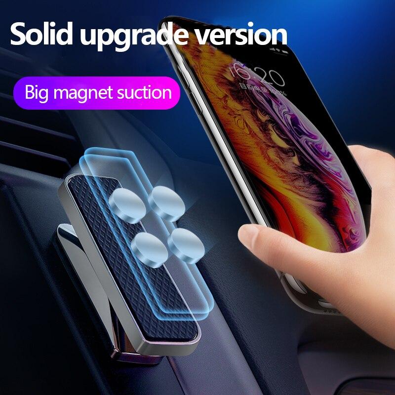Soporte magnético para teléfono, minimagneto metálico para Auto cruscoto, compatible con Parete,...