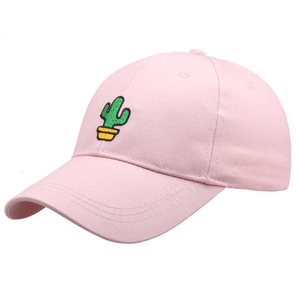 2021 бейсболка с вышивкой кактуса для женщин и мужчин, спортивные Снэпбэк кепки для улицы, регулируемые хлопковые шапки, летняя шапка