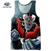 sonspee 3d print manga mazinger z mens tank tops casual fitness bodybuilding sea gym muscle men sleeveless vest shirt clothing