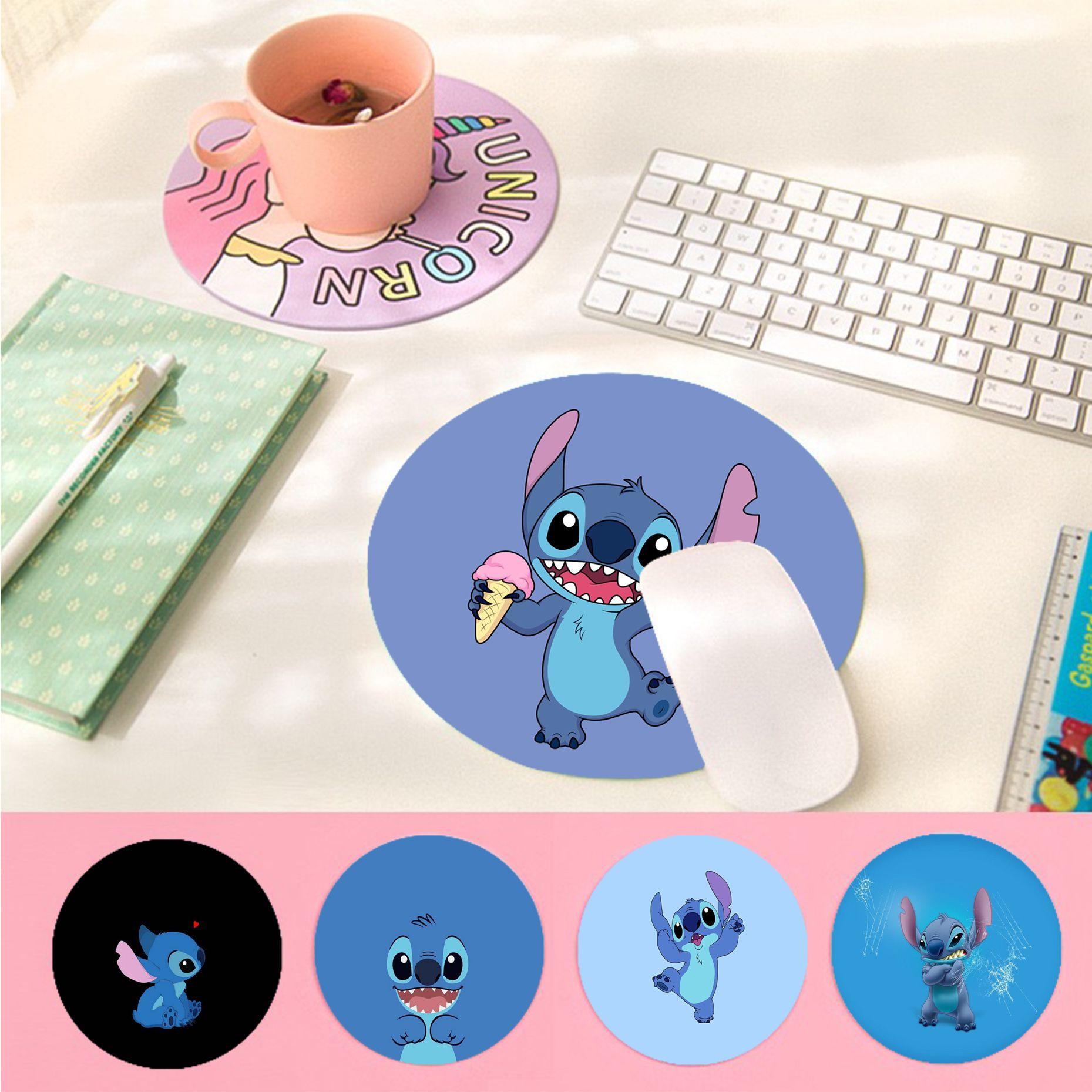 Резиновый прочный Настольный коврик для мыши с забавным рисунком, нескользящий коврик для мыши для ноутбука и ПК, игровой коврик для мыши