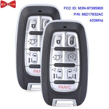 KEYECU 2pcs for Chrysler Pacifica 2017 2018 2019 2020 Proximity Smart Remote Key Fob M3N-97395900 68217832AC