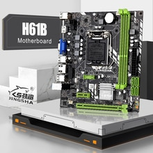 JINGSHA H61B LGA 1155 motherboard unterstützung Intel core serie LGA 1155 prozessor desktop DDR3 speicher