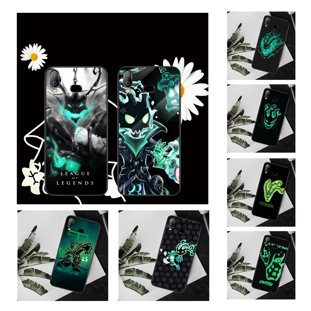 NBDRUICAI LOL SUPPORT Thresh Cover Black Soft Shell Phone Case For Samsung A10 A20 A30 A40 A50 A70 A71 A51 A6 A8 2018
