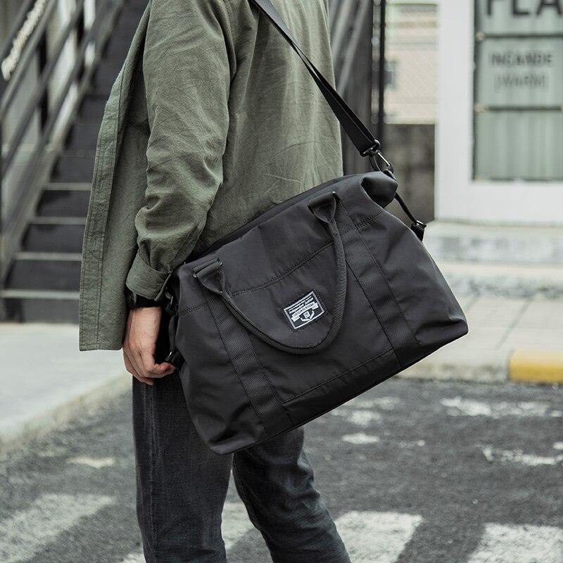 Bag Travel Baggage Large-capacity Waterproof Shoulder Handbags Men Women's Travel Duffel Bag Tote We