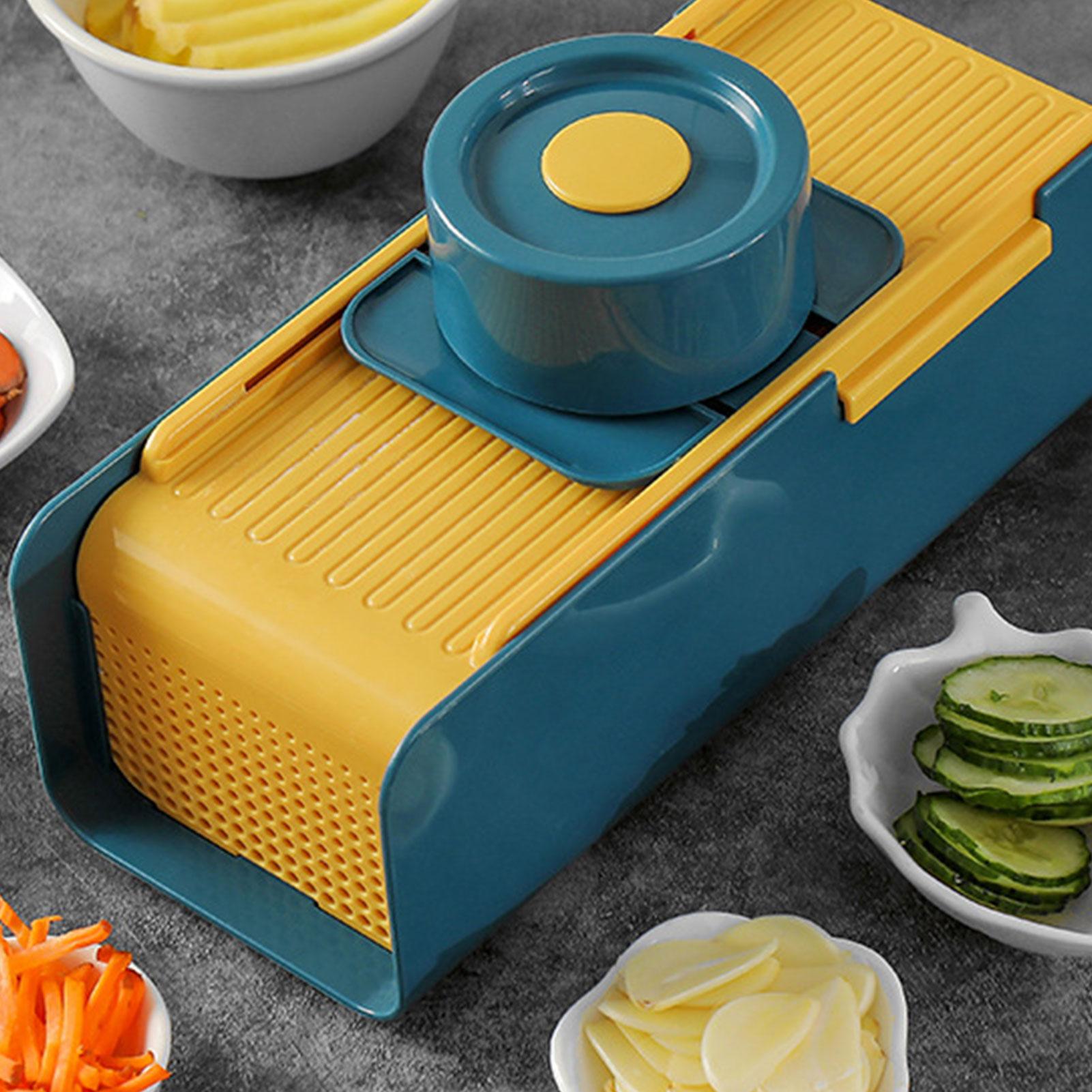 قطاعة الخضراوات متعددة الوظائف شرائح بطاطس قطع أثرية شرائح سميكة للمطبخ تقطيع المنزلية