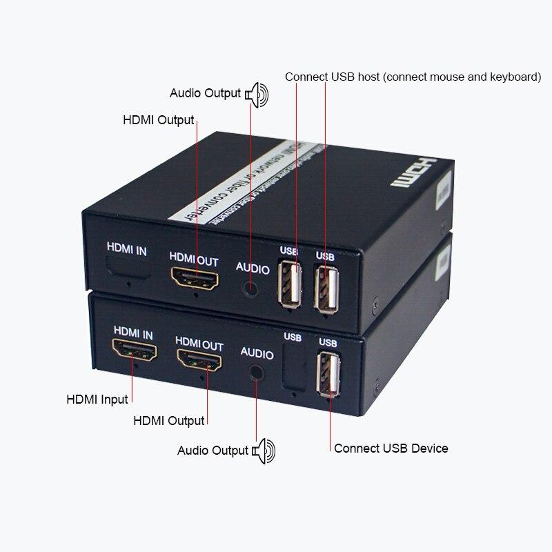 HDMI USB KVM Extender HDMI video de audio IP/TCP UTP/STP CAT5e/6 Rj45...