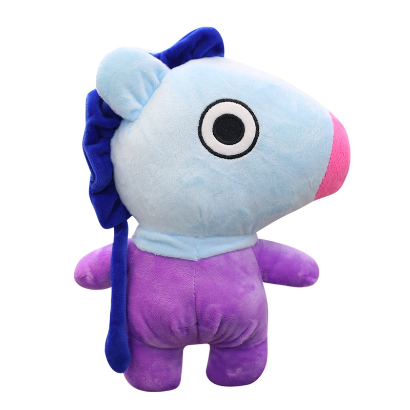 Bulletproof Youth Group Plush Doll Youth Group Same Rabbit Horse Plush Toy Birthday Christmas Gift Satchel Decorative Doll