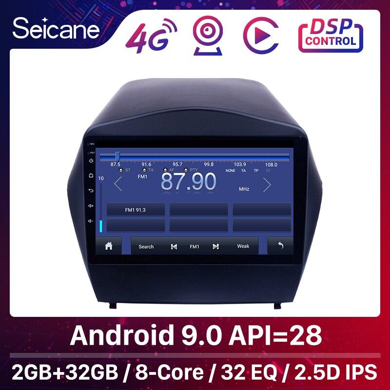 "Seicane 9 ""2din Android 9,0 GPS Auto Radio Für 2009 2010 2011 2012 2013 2014 2015 Hyundai IX35 Bluetooth wifi Multimedia Player"