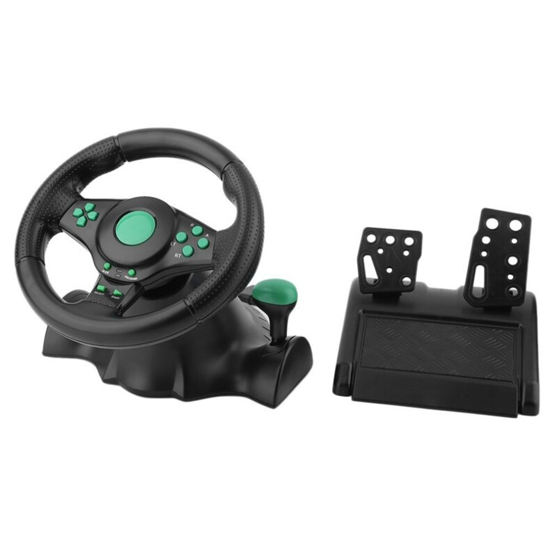 Горячая гоночная игра руль для 360 Ps2 Ps3 компьютера Usb Автомобильный вращение на 180