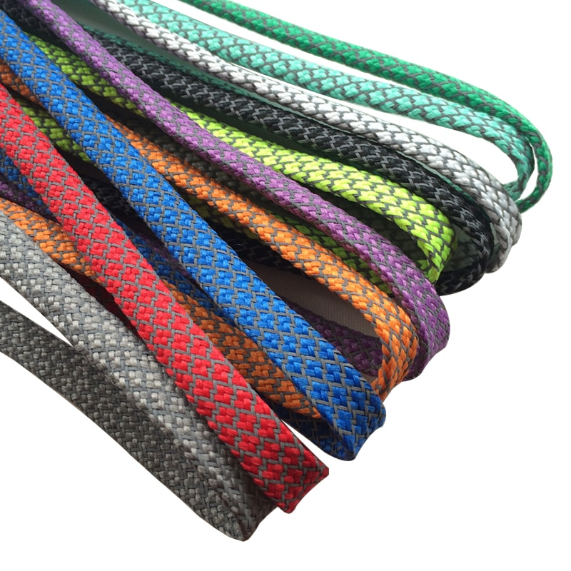 AliExpress - Offical Weiou New Flat 3M Reflective Shoelaces Runner Weave Tape Athletic Safety Shoe Laces Bootlaces For Running Boots 350 750