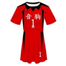Haikyuu Nekoma – Costume Cosplay Kuroo Tetsuro, vêtements de sport, NO.1