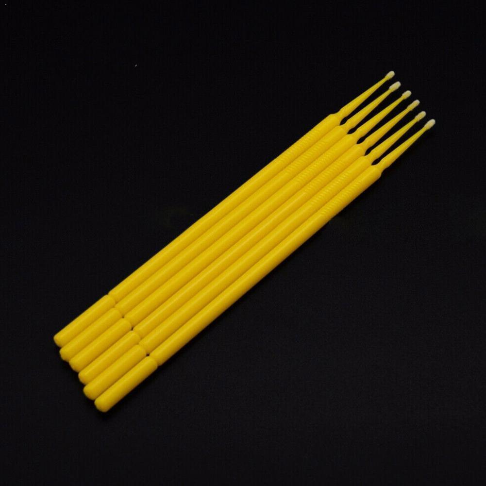 General Motors 100 шт. автомобильная краска микро щетки наконечники Авто Мини спрей части головы 1,0 мм щеточный мини-Y2S5
