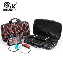 IKSNAIL Lagerung Tasche Für Nintend Schalter Lite Nintendo Schalter Konsole Fall Durable Nitendo Fall Für NS Nintendo Schalter Zubehör