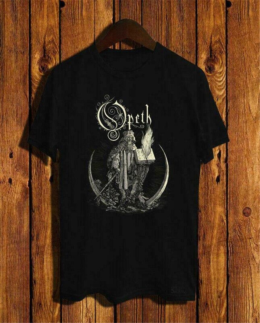 Nueva camiseta con Logo de Opeth, tamaño S, M, L, Xl, 2Xl, EE. UU., talla Em31, nueva camiseta genial