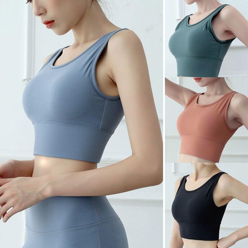 Ropa Interior informal para Mujer, Camiseta sin mangas de Color liso para...