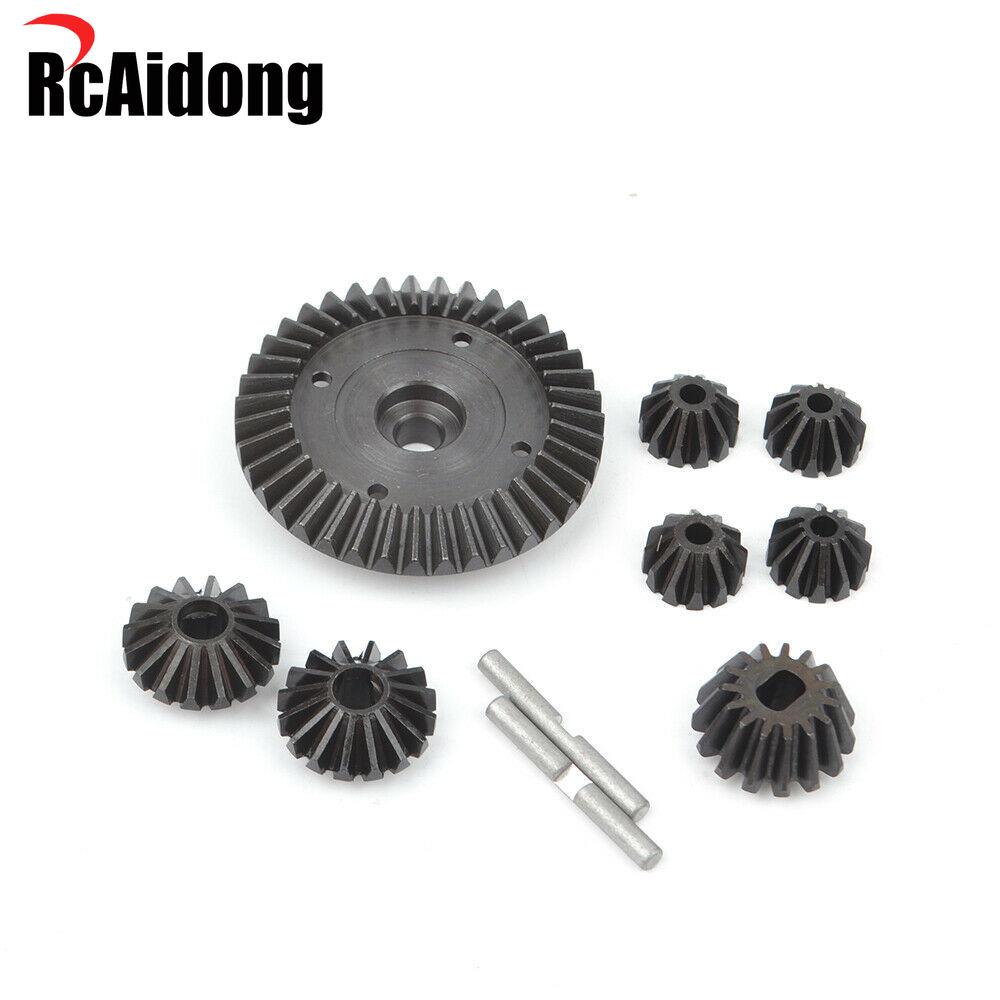 Gear Ring Steel Bevel Gears for 1/10 RC TAMIYA TT02/TT02B/TT02D Upgrades Accessories enlarge