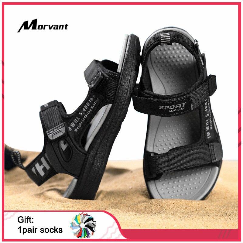 Сандалии детские дышащие, мягкая удобная Уличная обувь для мальчиков, пляжные легкие, летние|Сандалии| | АлиЭкспресс