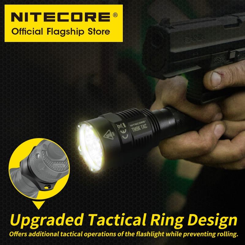 2021 NITECORE TM9K TAC 9800 Lumens Tactical Flashlight  USB Rechargeable Powerful LED Searchlight Super Bright, 5000mAh Battery enlarge
