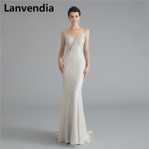 Lanvendia Glitter Prom Dresses 2020 Charming Sparkly Formal Dress Sexy Mermaid Evening Gowns Homecoming Dresses for Teen
