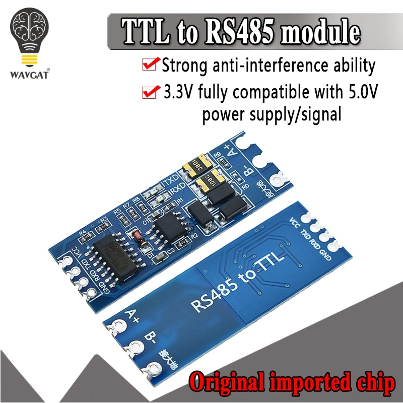 TTL Turn To RS485 Module Hardware Automatic Flow Control Module Serial UART Level Mutual Conversion
