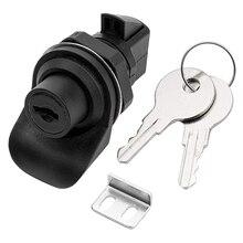 1 Set Locking Push Button Latch für Marine Boot Radio Box, Tool Box, Elektronische Box, motorrad Handschuh Box Lock.