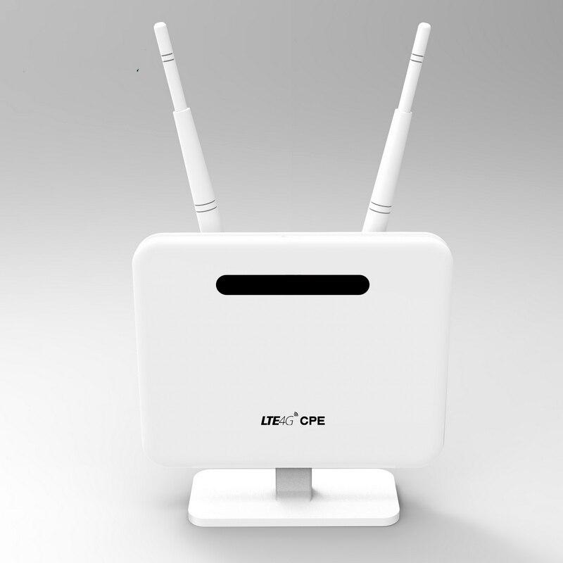 4G LTE مودم راوتر 300 150mbps CPE اللاسلكية راوتر واللاسلكية AP LTE راوتر مع بطاقة SIM Solt 2 * هوائي خارجي
