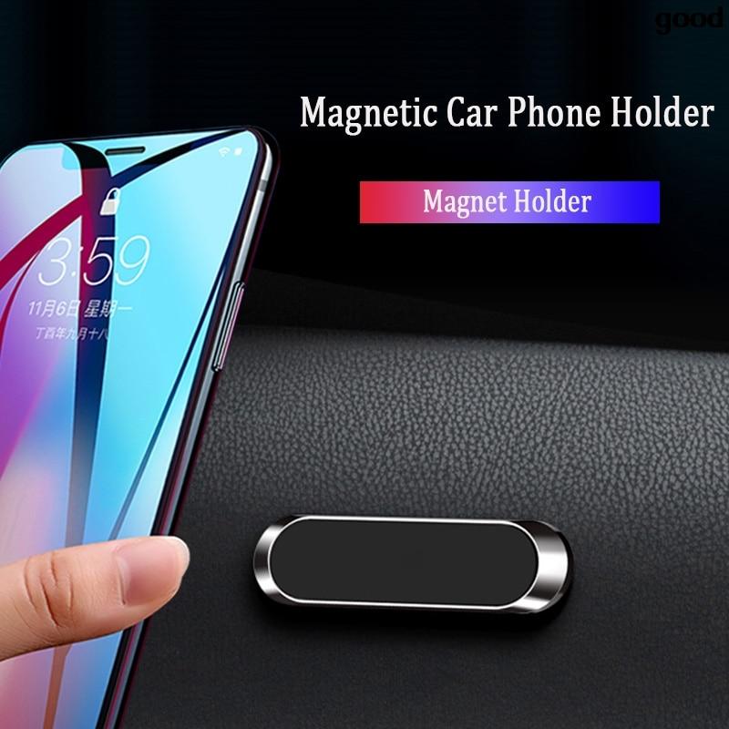 Metalowy samochodowy magnetyczny uchwyt na telefon stojak na Toyota V Hilux Land Cruiser Avanza Carina Celica Corona Aygo Avalon Auris
