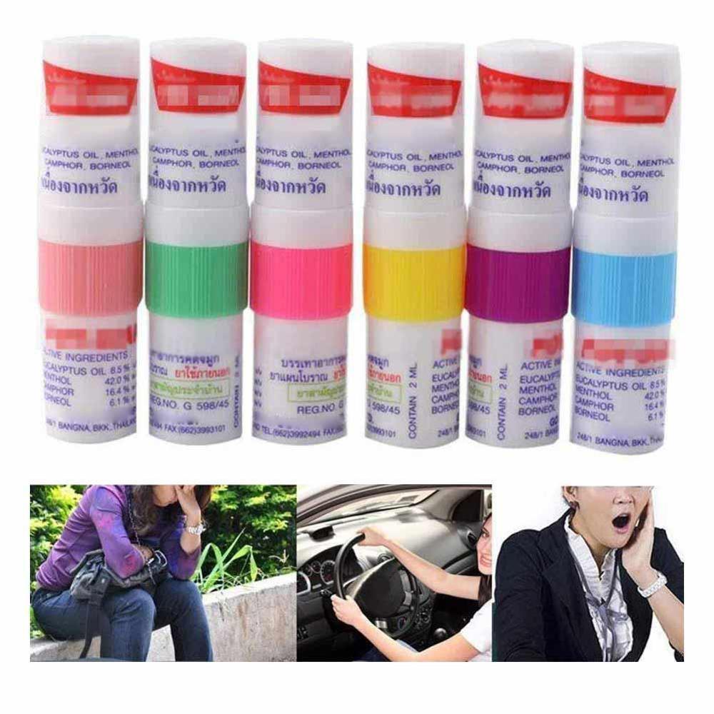 Дропшиппинг 2 шт Таиланд контейнеры для носовых ингаляторов Poy Sian Mark 2 травяные ингаляторы Poy Sian Stick мятный цилиндр масло разветвление астмы Breezy