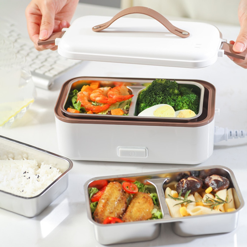300W, 220V Stainless Steel Shell Multifunctional Rice Cooker, Suitable For Students And Office Staff.