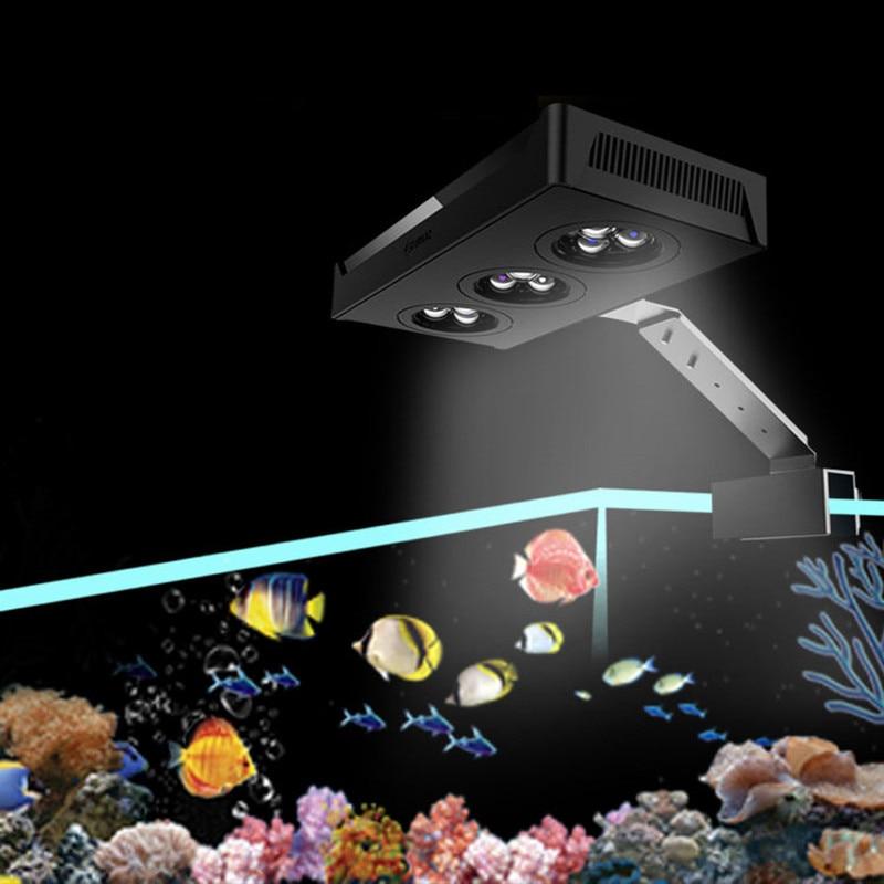 سبكترا نانو 029 إضاءة المربى المائي 30 واط إضاءة المياه المالحة مع التحكم باللمس لخزان الأسماك الشعاب المرجانية