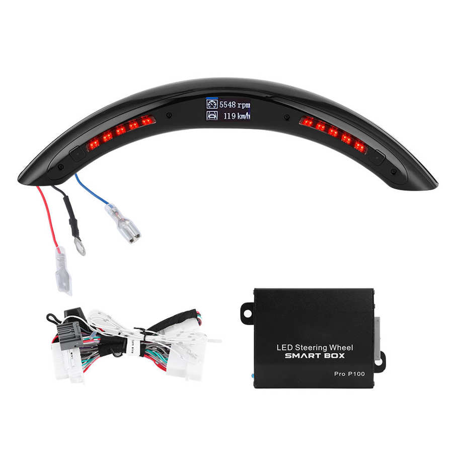 3rd Gen LED volante de rendimiento carrera LED Digital pantalla indicador de cambio luces OBD2 módulo Kits Universal